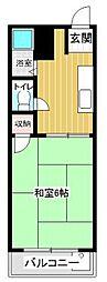 プレアール松島[4階]の間取り