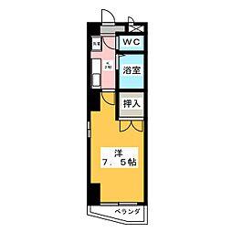 ハイツサンルート[2階]の間取り