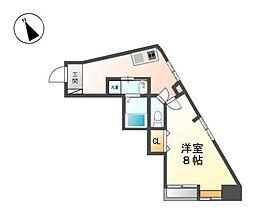 maison平安[3階]の間取り