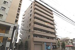 大阪府豊中市岡上の町4丁目の賃貸マンションの外観