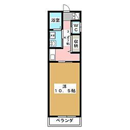 エル・パラレオ錦野[2階]の間取り