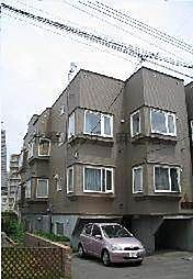 北海道札幌市北区北三十八条西6丁目の賃貸アパートの外観