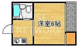 新山荘[305号室号室]の間取り