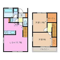 仮)笹井様邸[1階]の間取り
