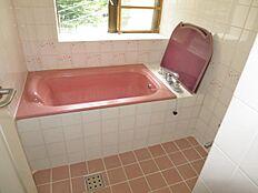 温泉の出る浴室