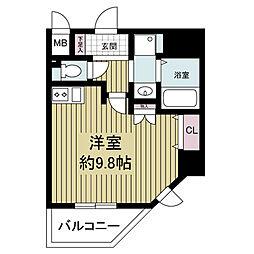 S-RESIDENCE Hommachi Marks[0904号室]の間取り