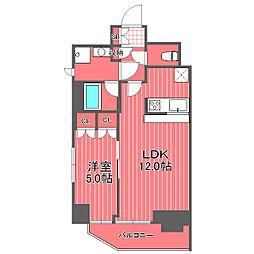 コンフォリア横濱関内[4階]の間取り