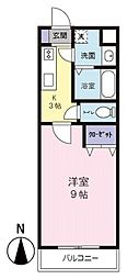 MANSION JULIA[4階]の間取り