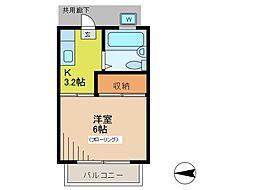アーベントガーデン[2階]の間取り