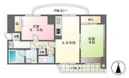 SDビル[401号室]の間取り