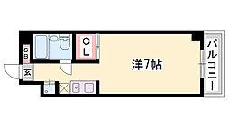 第二ダイキュー[3階]の間取り