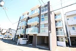 北海道札幌市中央区南五条西16丁目の賃貸マンションの外観