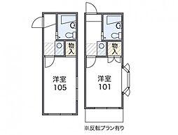 椎名町[2階]の間取り