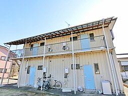 千葉県長生郡白子町北日当の賃貸アパートの外観