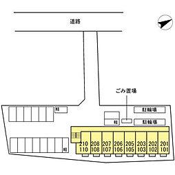 カサベルテ浜河内II[202号室]の外観