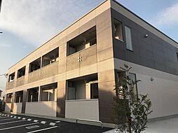 埼玉県日高市大字上鹿山の賃貸アパートの外観