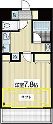 ヨシザワプラザビル[7階]の間取り