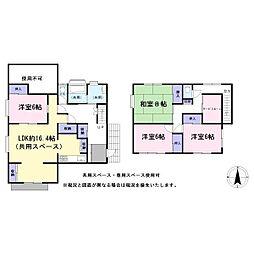 [一戸建] 埼玉県越谷市千間台西5丁目 の賃貸【/】の間取り