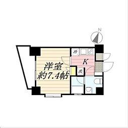 アデッソ志村ユニフォートデザイン[7階]の間取り
