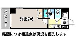京都府京都市上京区南兼康町の賃貸マンションの間取り