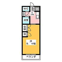 エム・ステージ神尾[3階]の間取り