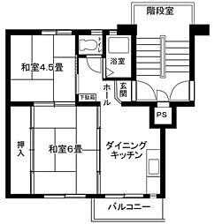 藤沢四ツ辻[3-324号室]の間取り