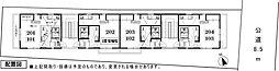 仮称)西富1丁目アパート[103号室]の間取り
