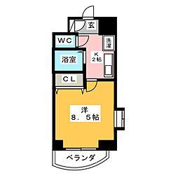 CHERRY HILLS I[2階]の間取り