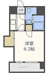 エステート・モア博多グランB棟[3階]の間取り