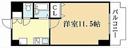 京都府宇治市小倉町神楽田の賃貸マンションの間取り