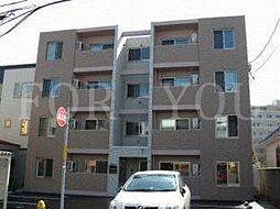 北海道札幌市豊平区福住一条2丁目の賃貸マンションの外観