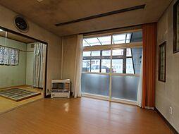 美幌町字元町25番 戸建て 4LDKの居間