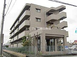 岡山県岡山市北区青江2丁目の賃貸マンションの外観