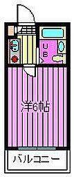 コンフォートマンション[102号室]の間取り