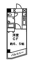 ブロード大塚[5階]の間取り