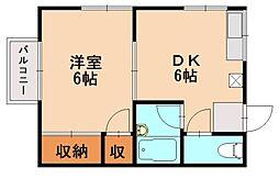 エデン空港前[2階]の間取り