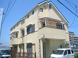 兵庫県伊丹市高台3丁目の賃貸アパートの外観