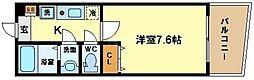 KWレジデンス阿波座[12階]の間取り
