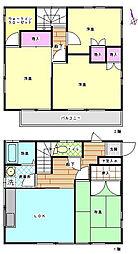 [一戸建] 埼玉県羽生市大字藤井上組 の賃貸【/】の間取り
