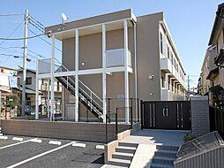 千葉県流山市美原4丁目の賃貸アパートの外観