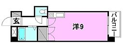 グランドハイム朝生田[307号室]の間取り