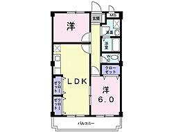 紫峰[3階]の間取り