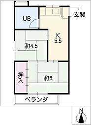 都ビル[3階]の間取り