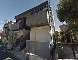 東京都八王子市天神町の賃貸アパートの外観