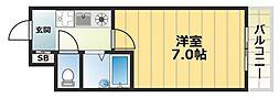パークレーン深江[2階]の間取り