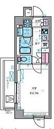 東京メトロ丸ノ内線 四谷三丁目駅 徒歩7分の賃貸マンション 1階1Kの間取り