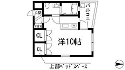 ウィンディノース[2階]の間取り
