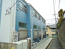 神奈川県横浜市神奈川区七島町の賃貸アパートの外観