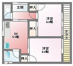 [一戸建] 三重県四日市市伊倉3丁目 の賃貸【/】の間取り