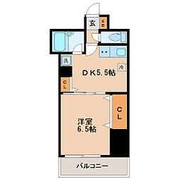 平和マンション北仙台[2階]の間取り